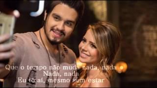 Luan Santana - Mesmo Sem Estar ft Sandy #  Letra ( wandher15)