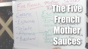 Understanding The Five French Mother Sauces - A Brief Overview