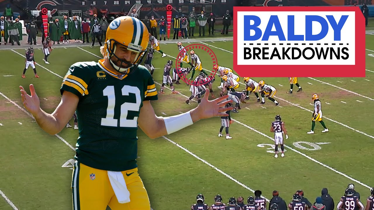 Aaron Rodgers Still Owns the Bears | Baldy Breakdowns