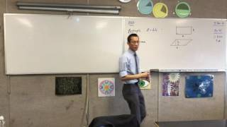 Area (2 of 4: Formulas for area of Rectangles, Parallelograms and Triangles and how they are formed)