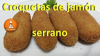 Croquetas de jamón serrano/FyRAmpisRecetas