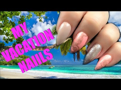 🏖☀️ MY VACATION NAILS ☀️ 🏖