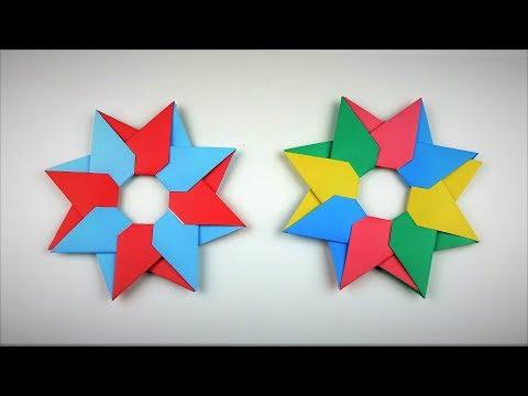 Modular Origami | Origami Lucky Star | Origami Christmas Star | Popular Craft
