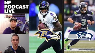 Ravens VS Seahawks | Week 7 NFL Game Picks | NF Podcast Live with Joe Noobo Featuring SZG Sports