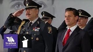 Peña Nieto conmemoró el día del Estado Mayor Presidencial