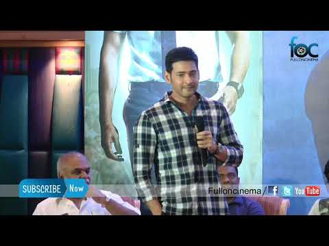 My Dream Comes True working with Santosh Sivan & AR Murugasoss in SPYDER says Mahesh Babu