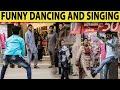 Funny Singing and Dancing in Public Prank - Lahori PrankStar