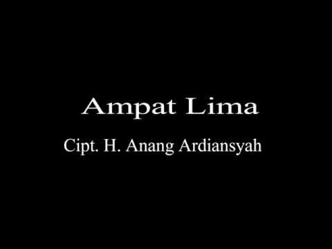 Lagu Banjar Ampat Lima Cipt  H  Anang Ardiansyah