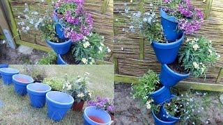 DIY  Deko für den Garten, Balkon oder Wohnung - Geschenkidee