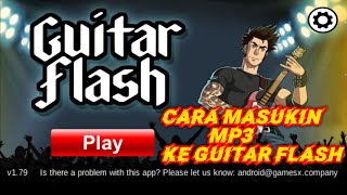 Cara masukin mp3 ke aplikasi game guitar flash screenshot 2