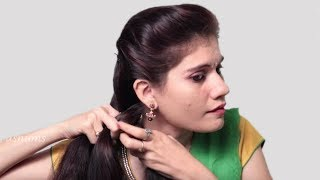 Easy Self Hairstyle for Long Hair | How to do French Braid Hairstyle tutorial 2018 |Playeven Fashion