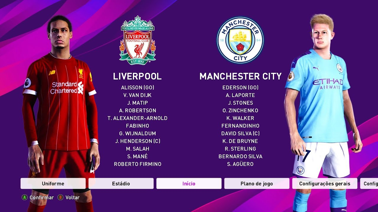 LIVERPOOL Vs MANCHESTER CITY E OVERALL