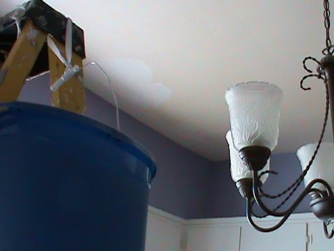 Cleaning The Kitchen Ceiling - YouTube