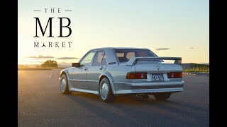 The MB Market- Blakley Leonard's 190e 2.3-16v Cosworth
