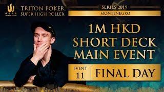 Triton Montenegro 2019 - Short Deck Main Event €110K - Day 3
