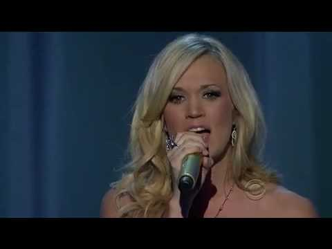 Carrie Underwood Temporary Home ACM CMA 2010