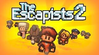 The Escapists 2.Прохождение игры.Дубинка Правосудия. / Видео