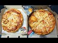 Pizza Hut vs Dominos Pizza | Double Cheese Pizza Review in India | Dominos or Pizza Hut 🔥