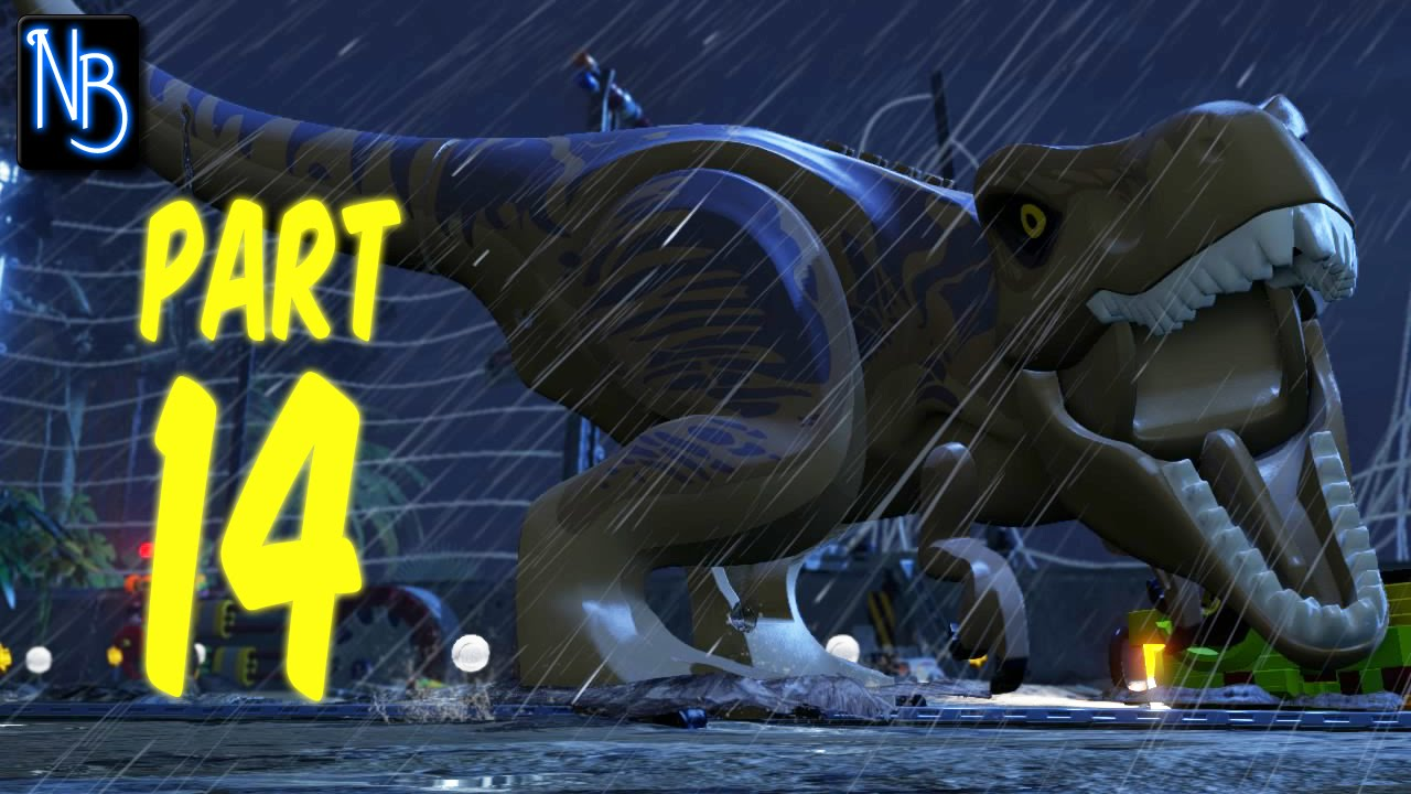 LEGO Jurassic World Walkthrough Part 14 No Commentary ...
