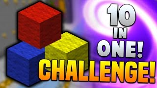 THE ULTIMATE SHOWDOWN!... | Minecraft 10-IN-ONE CHALLENGE