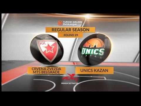 Казанский УНИКС потерпел поражение от «Црвены Звезды» со счётом 65:83