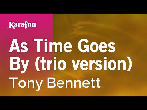 Karaoke As Time Goes By (trio version) - Tony Bennett *