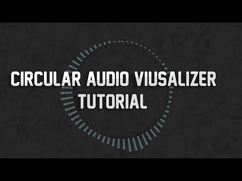 Blender 3D Circular Audio Visualizer Tutorial