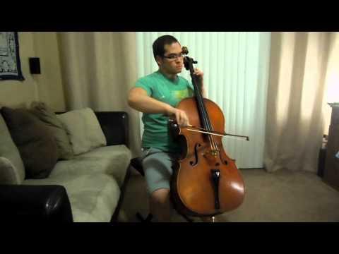 2. Gavotte - Lully - Suzuki Cello Book 3