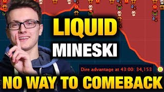 Liquid VS Mineski - Unbelievable No way To Coming Back Dota 2