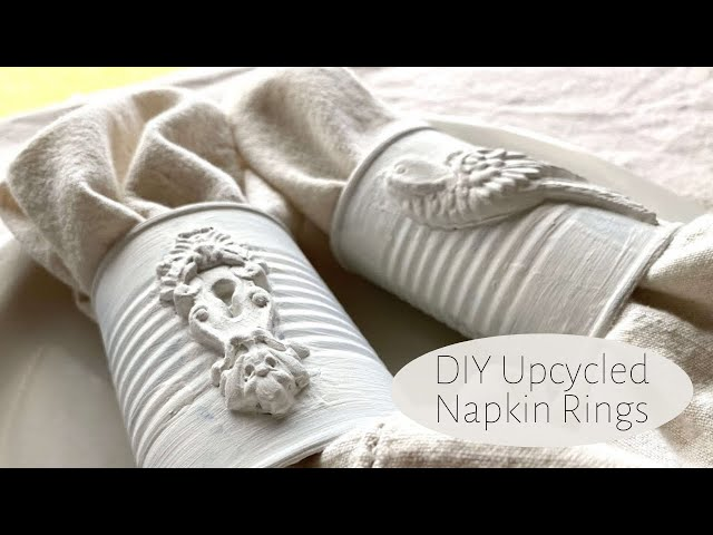 IOD Moulds DIY Upcycled Napkin Rings