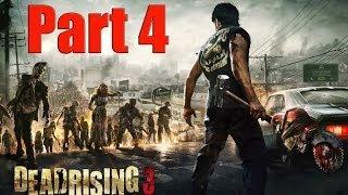 Dead Rising 3 Part 4 -Turret Rig Vehicle! Walkthrough XBOX ONE