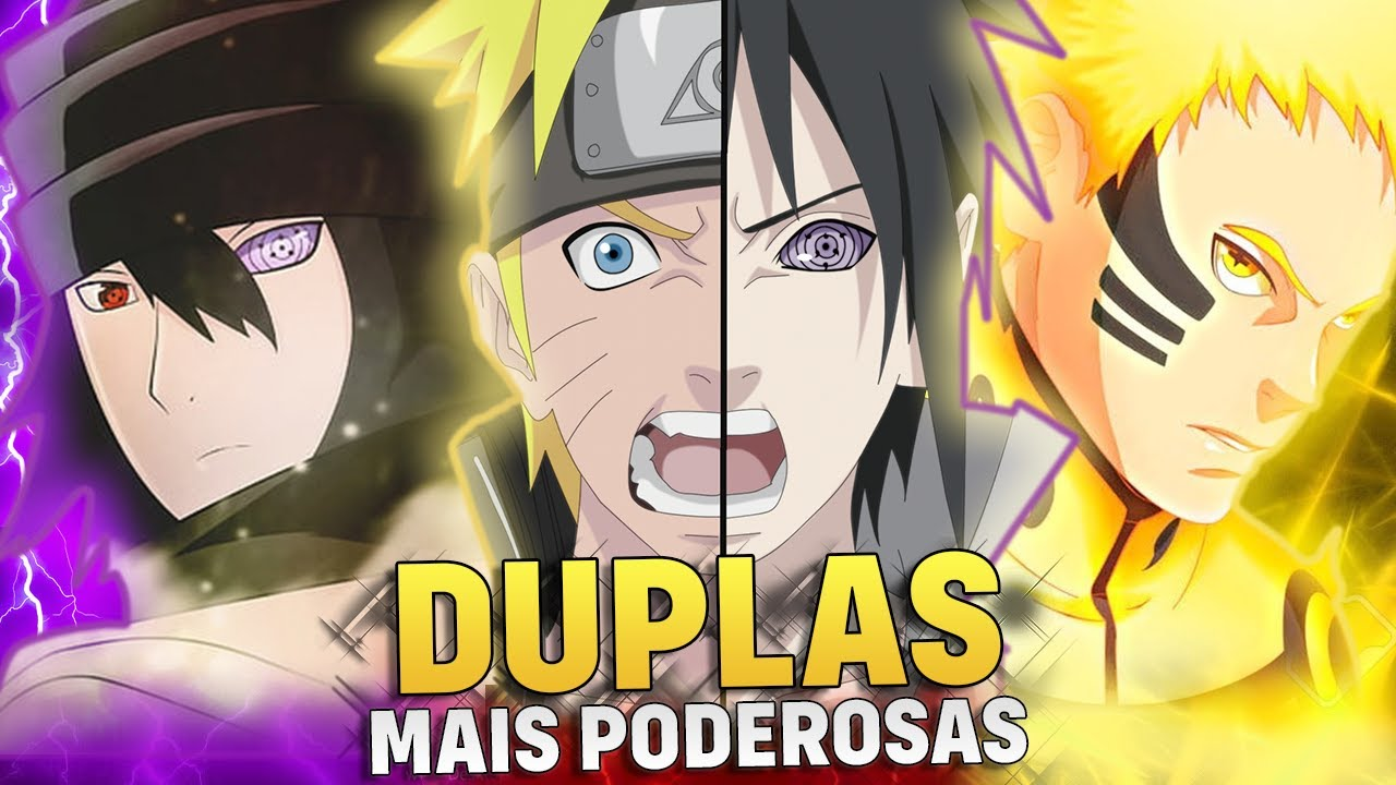 AS 10 DUPLAS MAIS PODEROSAS DE NARUTO | Player Solo