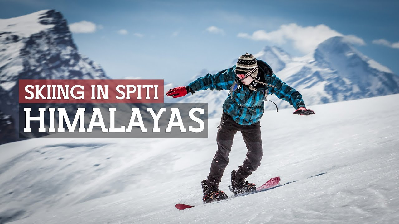 Skiing in Spiti - Winter Sports in India