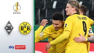 Borussia Mönchengladbach - Borussia Dortmund | Highlights - DFB-Pokal 2020/21 | Viertelfinale