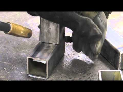 Mig Welding Square Tubing Youtube