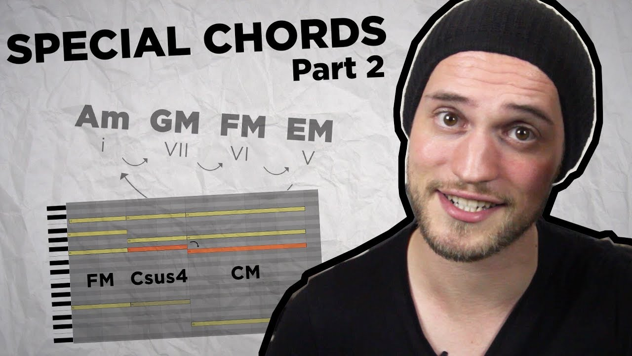 [Beats & Bobs #35] Special Chords part 2: Andalusian cadence, Sus4 and Sus2 chords - Music Theor