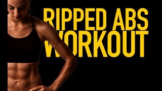 Ripped Abs Workout (INTENSE AB EXERCISES & CARDIO!!)