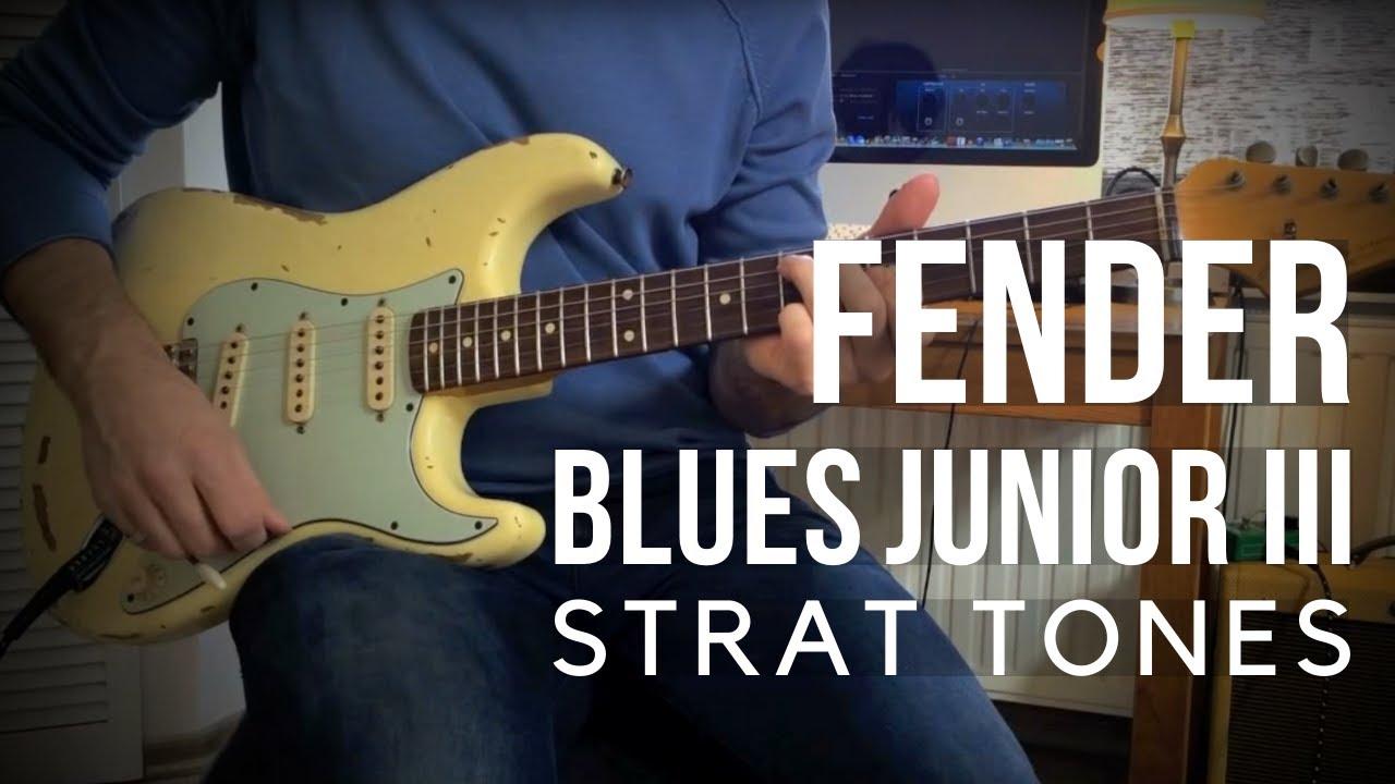 Fender Blues Jr Amp - Showcasing Strat Tones