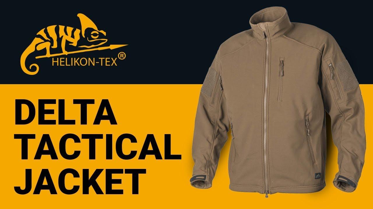 Helikon-Tex - Delta Tactical Jacket - Shark Skin - YouTube 7d82383abd