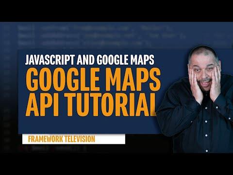 Javascript Google Maps Api Tutorial thumbnail