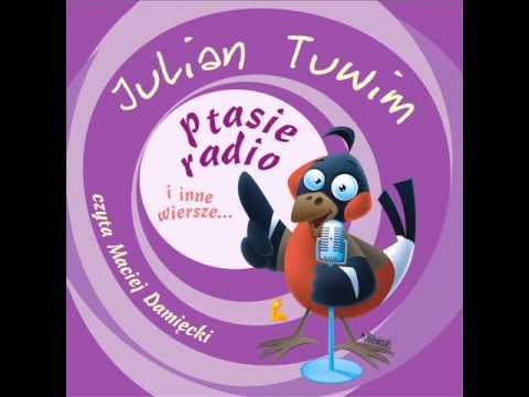 Wiersze Dla Dzieci Julian Tuwim Ptasie Radio Czyta Maciej Damięcki