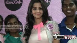 Chennai Turns Pink at Queen Marys College | Vedhika | Kala Master 1 - BW