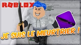 I'M THE CULPRIT! Mistery Roblox Murder
