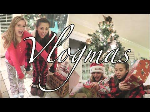 VLOGMAS: ❄ Christmas lights, Gingerbread Wars, Dirty Santa and more ❄