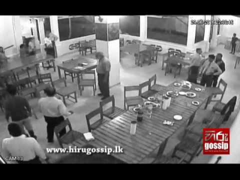 Business Man Beat in Homagama CCTV