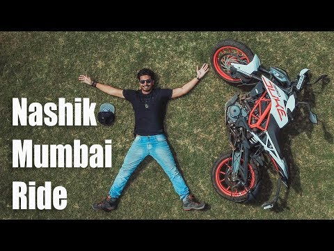 Nashik to Mumbai Ride on New KTM Duke 390