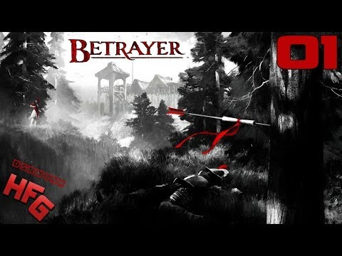 BETRAYER Walkthrough - Part 1 Gameplay Playthrough Lets Play PC