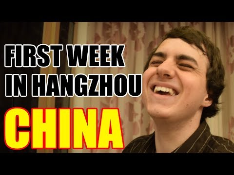 FIRST WEEK AS AU PAIR IN HANGZHOU CHINA! Weekly Au Pair Recap #1 [China Au Pair Vlog #5]