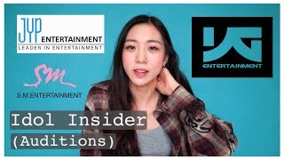 IDOL INSIDER  🔍| KPOP AUDITION EXPERIENCES + tips