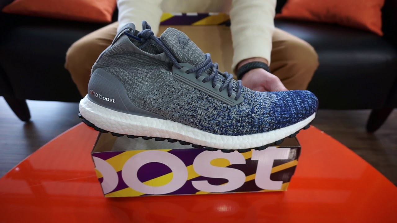 2bc0e3c6a9884a Adidas UltraBOOST All Terrain Men s Running Shoes SKU  BB6128 RevUp Sports  Unboxing